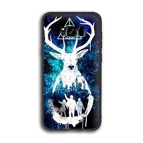 Ốp lưng Harry Potter cho điện thoại Samsung Galaxy S8 Plus - Viền TPU dẻo - 02050 7769 HP01 - Hàng Chính Hãng
