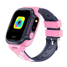 Đồng Mồ Thông Minh cho Trẻ em 6,7,8,9,10,11 tuổi Pin khỏe dùng được 2 ngày Lắp Sim Độc lập nghe gọi 2 chiều AMA Watch Y92 Chống nước Định vị Wifi độ chính xác cao Hàng nhập khẩu
