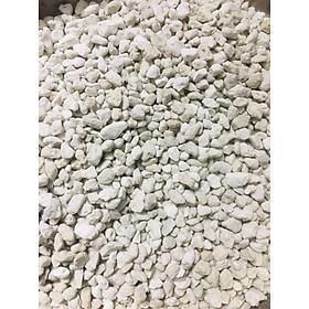 Vật liệu lọc Đá lông vũ ( nham thạch trắng) dành cho hồ cá cảnh - 1 kg