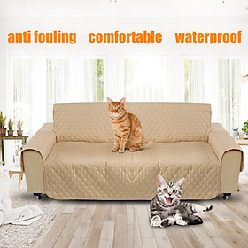 3 Seat Pet Dog Cat Sofa Couch Mat Protector Slip Cover Pad Removable Waterproof