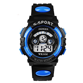 Đồng hồ thể thao điện tử chống nước, chống va đập cho bé trai