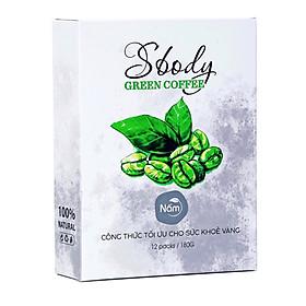Nấm Hỗ Trợ Giảm Cân Sbody Green Coffee - 100% Thiên Nhiên (Hộp 12 gói /180G) Đốt Mỡ và Kiểm Soát Cân Nặng - Cà Phê Xanh Hỗ Trợ Giảm Cân AN TOÀN & HIỆU QUẢ!