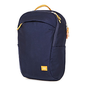 JNE portable shoulder bag 15 inch laptop bag male and female students sports poor travel backpack anti-splashing blue 15L
