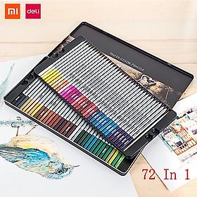 Biểu đồ lịch sử biến động giá bán Bút chì màu có thể hòa tan trong nước Xiaomi Deli 24/36/48/72 màu Bút vẽ màu Dụng cụ vẽ tranh Bút vẽ tay có hộp lưu trữ Bút chì màu