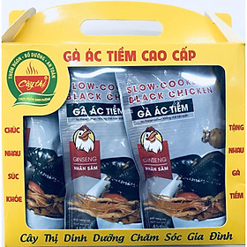 Combo 3 gói Gà Ác Tiềm thương hiệu Cây Thị