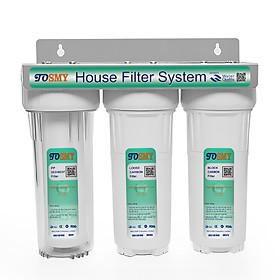 Bộ lọc nước 3 giai đoạn 10 inch SMY 2 gioăng