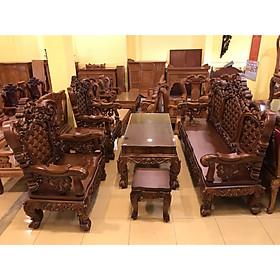 Bộ bàn ghế hoàng gia 06 món mẫu mới 2019