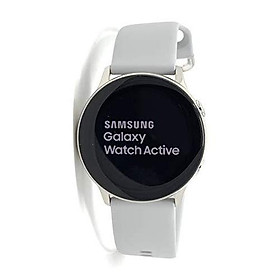 Samsung Galaxy Watch Active - 40mm, IP68 Water Resistant, Wireless Charging, SM-R500N International Version (Android/iOS)