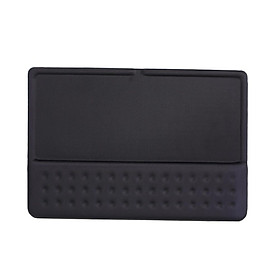 BUBM Keyboard Wrist Rest for Apple Laptop and Computer Wireless Memory Foam Pad for Office and Home Use (black)