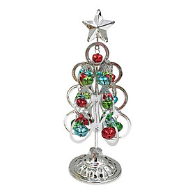 Christmas Tree Desktop Mini Six-sided Ring Gold Christmas Tree Wrought Iron Christmas Tree Miniatures Decoration For Home