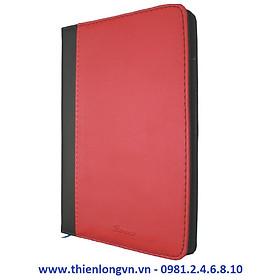 Sổ Bureau A5 - 200 trang; Klong 323M bìa đỏ