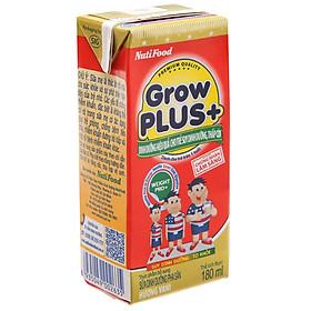 Thùng 48 Hộp x 180ml Sữa Bột Pha Sẵn GrowPLUS+ Đỏ 180ml Suy Dinh Dưỡng - Hàng Chính Hãng