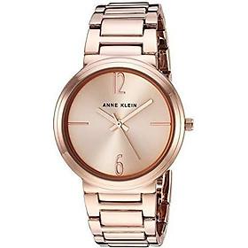 Anne Klein Women's AK/3169SVSV Silver-Tone Bracelet Watch