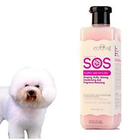 Sữa tắm cho chó mèo SOS Hanpet chai 530ml - Có đủ loại dành cho mọi giống chó và cho mèo