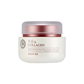 Kem Dưỡng THE FACE SHOP Pomegranate & Collagen Cream 100ml