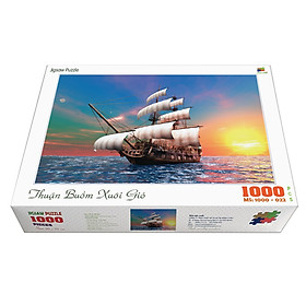 Bộ tranh xếp hình jigsaw puzzle cao cấp 1000 mảnh ghép – Thuận Buồm Xuôi Gió