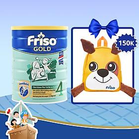 Sữa Bột Friso Gold 4 Cho Trẻ Từ 2-4 Tuổi 1.5kg + Tặng Balo Cún Con Xinh Xắn