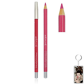 Chì Kẻ Môi Quyến Rũ Mik@Vonk Professional Lipliner Pencil Hàn Quốc #03 Màu đỏ hồng tặng kèm móc khoá