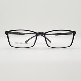 Gọng kính đen nhựa dẻo Hàn Quốc kiểu dáng hiện đại- 0301