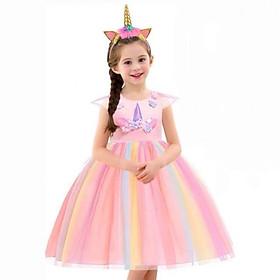 Đầm pony - Đầm công chúa nhiều màu cho bé gái