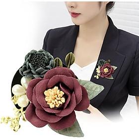 Cài áo thời trang hình hoa xuất Nhật (GC15)