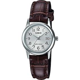 Đồng hồ nữ dây da Casio LTP-V002L-7B2UDF