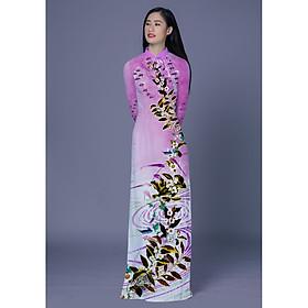 ASBR300-S36   Vải Áo Dài Thái Tuấn Hoa Văn In