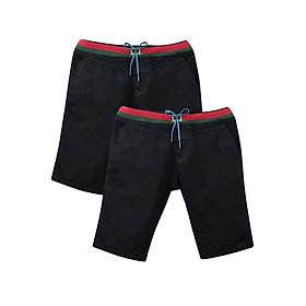 Combo 2 Quần Short Lưng Thun Muidoi Q159 - Đen