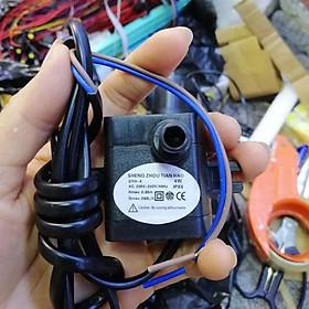 Bơm chìm mini 4W 7W 16W 18W 25W - 220V quạt điều hoà hơi nước - bể cá thủy cảnh