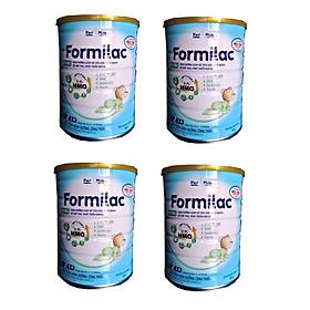 Bộ 4 Lon Sữa công thức Formilac Optipro số 2 (6-12 tháng) - 900g