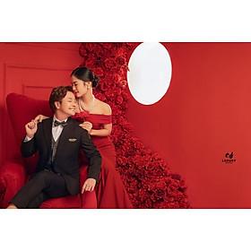 Chụp ảnh cưới tại phim trường độc quyền của Sansan Luxury Wedding - Gói Basic