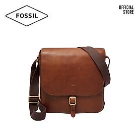 Túi đeo chéo nam thời trang Fossil Buckner Citybag MBG9374222 - màu cognac