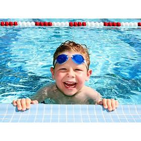 Kính Bơi Trẻ Em Trong Suốt Thiết Kế Thời Trang Chống Tràn Nước KB01
