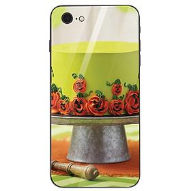 Ốp điện thoại kính cường lực cho máy iPhone 6 Plus/6s Plus - haloween kinh sợ MS HLGKS029