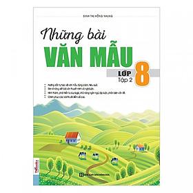 Những Bài Văn Mẫu Lớp 8 (Tập 2) tặng kèm bookmark