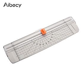 Máy cắt giấy cầm tay Aibecy khổ giấy A4 chiều rộng cắt 12 inch dành cho giấy thủ công/ảnh
