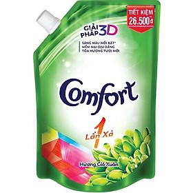 Nước Xả Vải Comfort 1 Lần Xả Hương Gió Xuân Túi 1.6L - 67349992