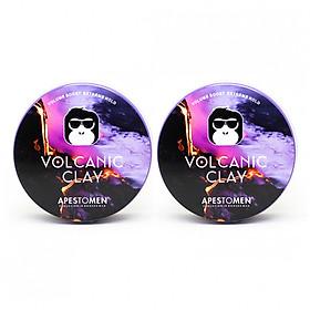 Bộ 2 sản phẩm Sáp vuốt tóc Apestomen Volcanic Clay
