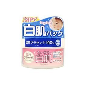 Mặt Nạ Rửa Trôi Thải Độc Dưỡng Trắng Làm Sạch Sâu Da Giàu Dưỡng Chất Placenta White Label Premium Placenta Pack Hũ 130gr Từ Nhật Bản