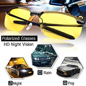 UV400 Polarized Night Vision Driving Anti-Glare Sunglasses Sun Glasses for Outdoor Sport Fishing Driving
