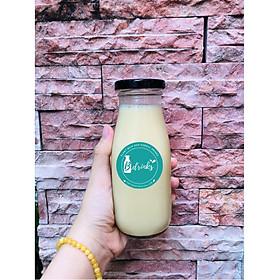 Combo10 Chai  thủy tinh đựng sữa hạt , nước trái cây( 330ml )