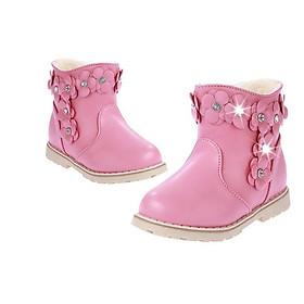 Giày Bốt Cho Bé Gái 1 - 5 Tuổi GC33