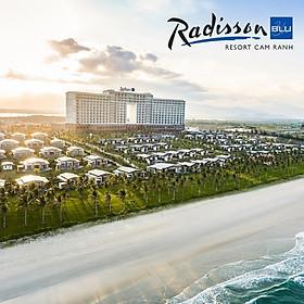 Radisson Blu Resort 5* Cam Ranh Nha Trang - Gói 02 Bữa Ăn, Phòng Hướng Biển, Hồ Bơi Lớn, Ngay Bãi Dài Cực Đẹp