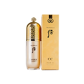 Kem CC trang điểm Whoo Mi Essential CC Cream SPF25/PA++ 40ml