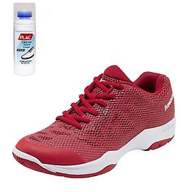 Giày cầu lông Kawasaki K357 màu đỏ - Tặng bình làm sạch giày cao cấp