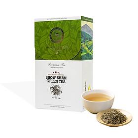 Trà San Tuyết Suối Giàng Thượng Hạng Hương Mai Cafe Premium Snow Shan Green Tea - 100% Lá Trà Non Tươi Sạch Trồng Trong Môi Trường Núi Cao 115g