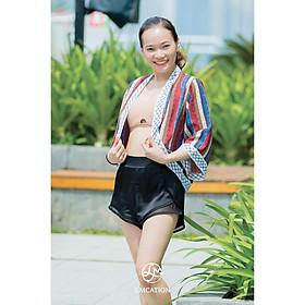 Áo Kimono LMcation Naomi Dáng Ngắn - Thổ Cẩm