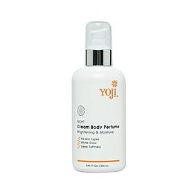 Yoji Natural Cream Body Perfume - Kem Dưỡng Trắng Toàn Thân Ban Đêm
