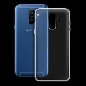 Ốp lưng cho Samsung Galaxy A6 2018 - 01024 - Ốp dẻo trong - Hàng Chính Hãng
