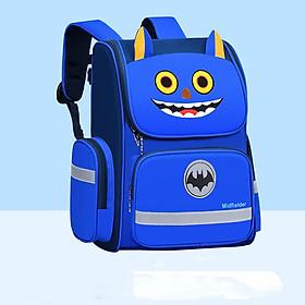 Balo học sinh chống gù lưng phản quang nhân vật hoạt hình ngộ nghĩnh phù hợp cho bé lớp 1-2 4821-14